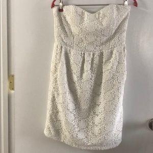 Julie Brown Mini White Dress